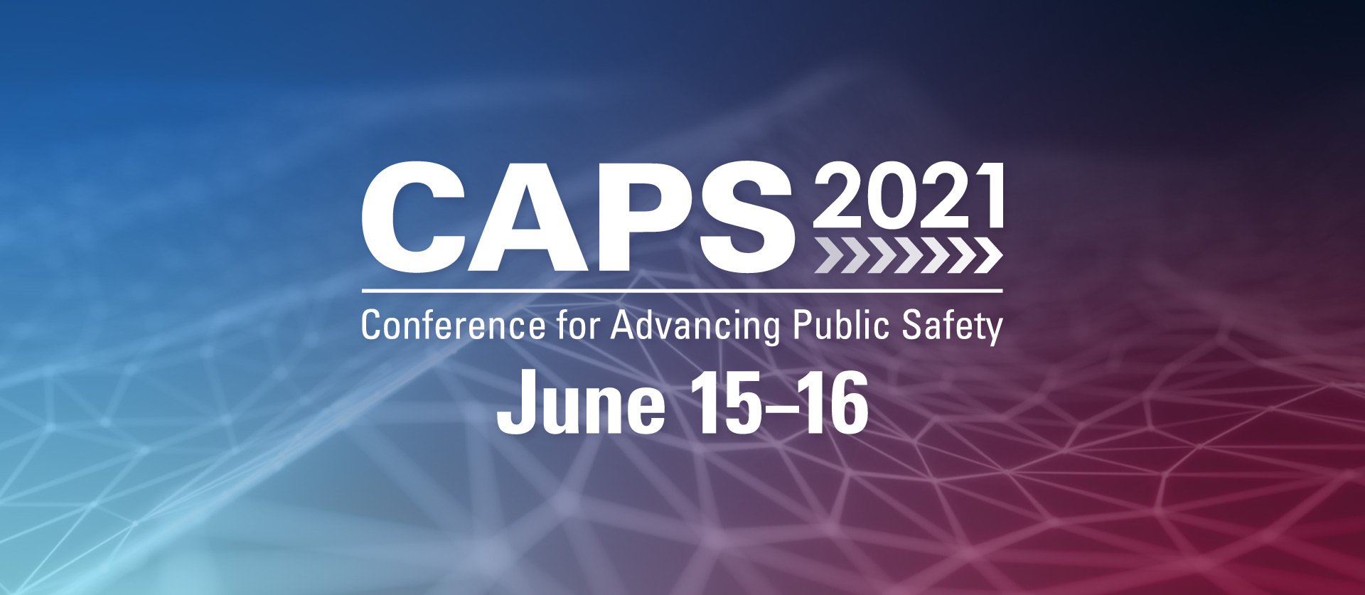 CAPS 2021 Landing Page Header with Date